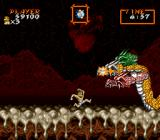 Super Ghouls 'N Ghosts SNES triple headed dragon boss