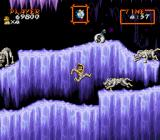 Super Ghouls 'N Ghosts SNES The wolves don't mind the cold
