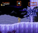 Super Ghouls 'N Ghosts SNES The ice boss