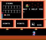 Milon's Secret Castle NES The store