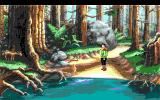 King's Quest VI: Heir Today, Gone Tomorrow DOS There is a deer here in the forest (EGA)
