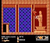 Demon Sword NES Finding a secret temple in the grave-strewn mountain