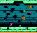Disney's The Little Mermaid NES The boss eels who occupy the sunken ship