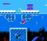Disney's The Little Mermaid NES Every platform game needs an ice level, so here is the sea of ice