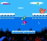 Disney's The Little Mermaid NES The boss walrus