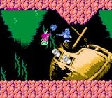 Disney's The Little Mermaid NES This captain fish boss commands the cannons on this sunken ship to fire at you