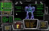 Ultrabots DOS Situation room - showing Humanoid's status