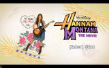 Hannah Montana: The Movie Windows Title screen.