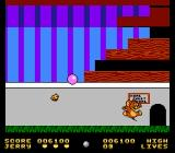 Tom & Jerry NES Jerry reaches his mouse hole, but the journey is not over