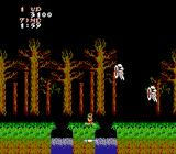 Ghosts 'N Goblins NES Through the forest, over the river, battling the ghostly knights