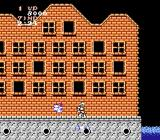 Ghosts 'N Goblins NES Level 2, progressing through a cursed town