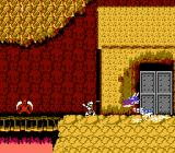 Ghosts 'N Goblins NES Level 4 boss -- another dragon