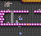 Ghosts 'N Goblins NES Level 5, hiking up the fortress