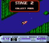 Cobra Triangle NES The goal for the stage