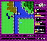 Hydlide NES Evil wizards roaming the countryside