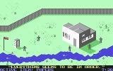 Infiltrator II Commodore 64 Mission 1 - Your fake papers fool the guard.