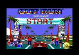 OutRun Amstrad CPC Loading screen.