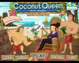 Coconut Queen Windows Main menu