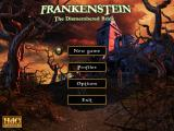 Frankenstein: The Dismembered Bride Windows Main menu