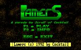 Lamers DOS title screen
