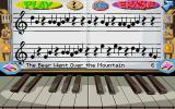 Fatty Bear's Birthday Surprise DOS Play songs or make your own with the piano mini game