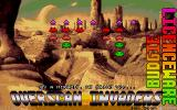 Overscan Invaders Atari ST Second title screen