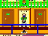 Bank Panic SEGA Master System The bank teller stares at the bandit, but does nothing about him