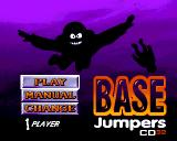 Base Jumpers Amiga CD32 Title screen with menu