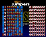 Base Jumpers Amiga CD32 The high-score table