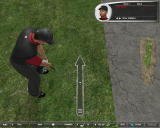 Tiger Woods PGA Tour 06 Windows View from above
