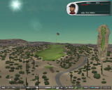Tiger Woods PGA Tour 06 Windows Golf field in the middle of the desert
