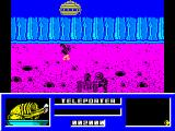 Star Paws ZX Spectrum Artillery range, accessed via Teleport