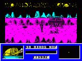 Star Paws ZX Spectrum Bird killed - saucer collecting it...