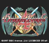 Dragon Knight 4 PC-FX Title screen