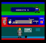 Bonanza Bros. TurboGrafx CD Game Over - you are in prison )