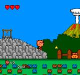 Bonk 3: Bonk's Big Adventure TurboGrafx CD Bonk gained a power-up. He can shoot golden stars now