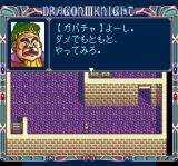 Dragon Knight III TurboGrafx CD Conversations with important characters have voice-overs and portraits