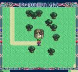Dragon Knight III TurboGrafx CD On the world map
