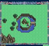 Dragon Knight III TurboGrafx CD Near a cave entrance