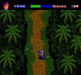 Final Zone II TurboGrafx CD Starting the game