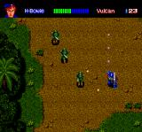 Final Zone II TurboGrafx CD Fighting enemy soldiers