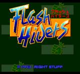 Flash Hiders TurboGrafx CD Title screen