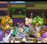 Flash Hiders TurboGrafx CD Gotta eat before the fight!