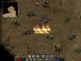 Divine Divinity Windows Fighting sand demons