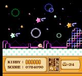 Kirby's Adventure NES Levels are very colorful