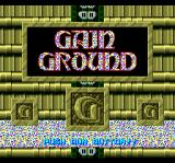 Gain Ground TurboGrafx CD Title screen