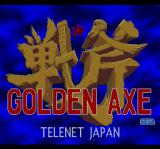 Golden Axe TurboGrafx CD Title screen
