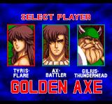 Golden Axe TurboGrafx CD Select your player!