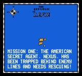 Firehawk NES Your first mission
