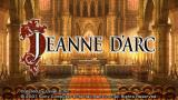 Jeanne d'Arc PSP Title screen
